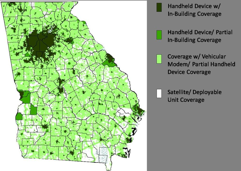 FirstNet Coverage Map